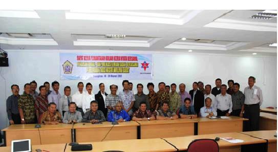Rapat Kerja Ketua LPM BKS PTN Barat : Unib Tuan Rumah KKN Bersama 2012