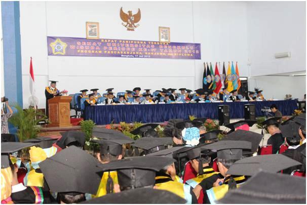 Wisuda ke-67, Unib Tambah 991 Alumni