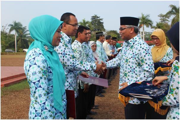 Rektor Pimpin Upacara Hari Kesaktian Pancasila