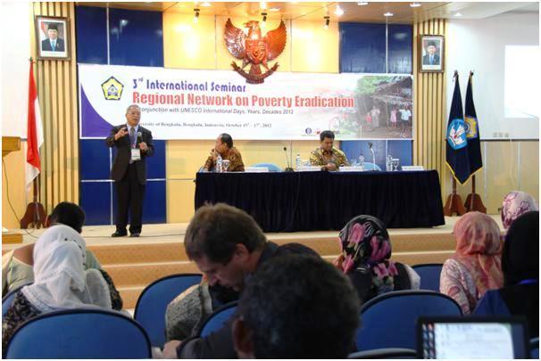 Seminar Internasional RENPER : Upaya Pengentasan Kemiskinan