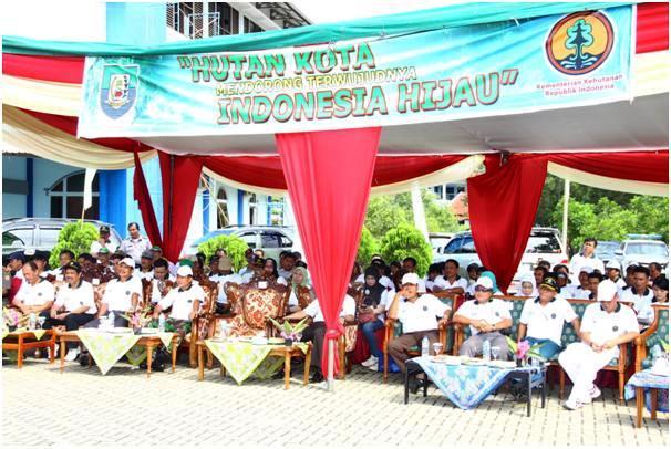 Unib Tuan Rumah Peringatan Hari Menanam Pohon Indonesia