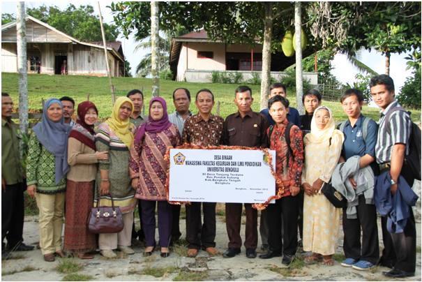 FKIP Unib Bentuk Desa Binaan