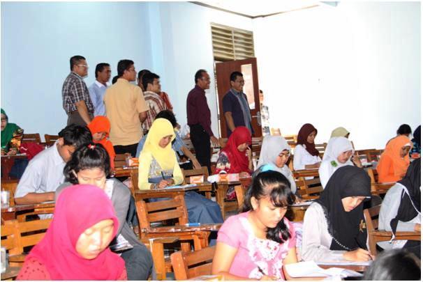 Ratusan Mahasiswa Ikut ON MIPA