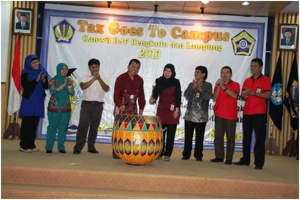 Tax Goes To Campus Kanwil DJP Meriahkan Acconting Fair
