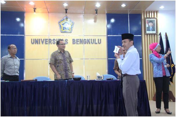 Balon Rektor UNIB Adu Gagasan dan Program Kerja