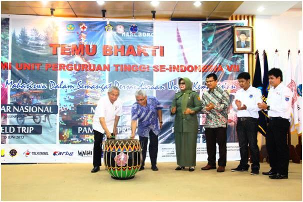 Unib Tuan Rumah TB KSR PMI se-Indonesia