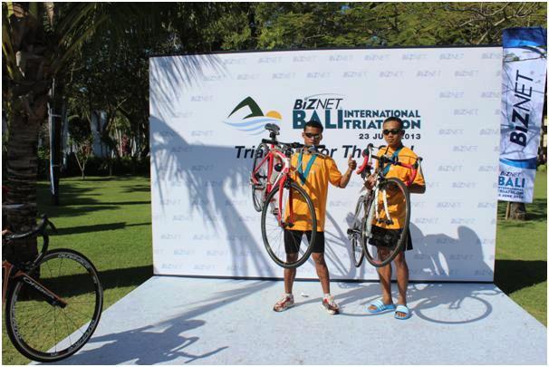 Atlet Unib Juara Biznet Bali International Triathlon