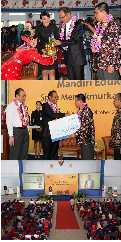 Kuliah Umum Direktur Bank Mandiri