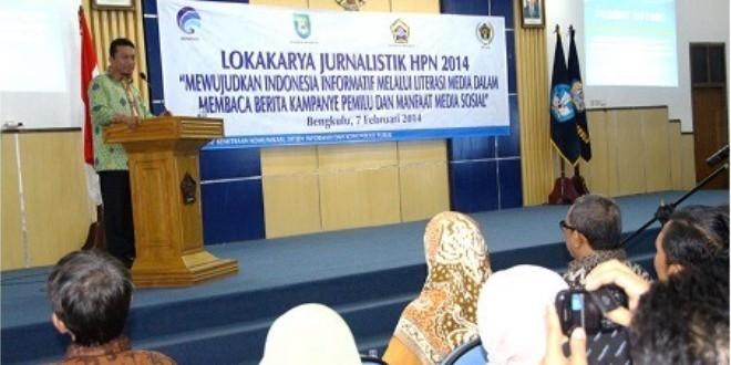 HPN : Kementerian Komunikasi dan Informasi Gelar Lokakarya di Unib