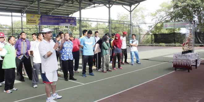 Invitasi Tenis Lapangan Dies Natalis Unib