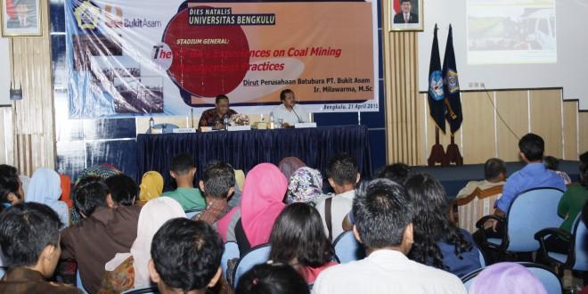 PT Bukit Asam Berbagi Pengalaman tentang Perusahaan Tambang BB