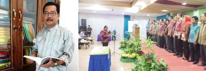 Rektor Dilantik Sebagai Ketua ICMI