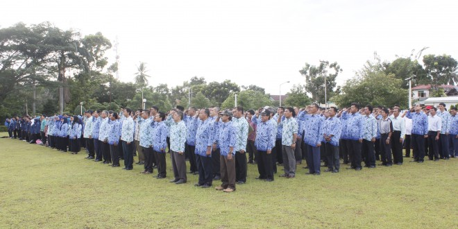 Upacara Peringatan Hari Kebangkitan Nasional