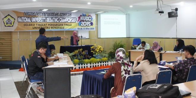 UNIB Kirim Tiga Mahasiswa pada Ajang NUDC 2015