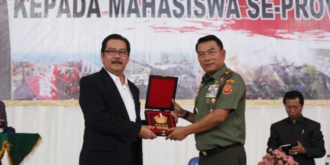 Panglima TNI Kuliah Umum di UNIB