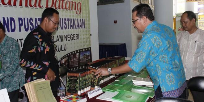 UPT Perpustakaan Gelar Pekan Buku Sejarah dan Budaya Bengkulu