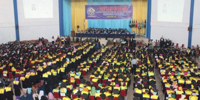 Wisuda Periode ke-77 : UNIB Tambah 754 Lulusan