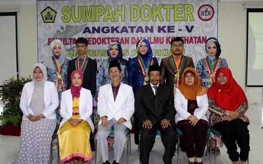 Delapan Tahun FKIK UNIB Meluluskan 46 Dokter