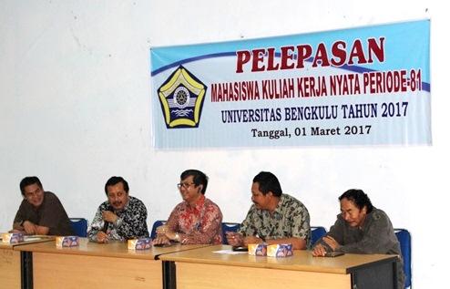 LPPM UNIB Berangkatkan 64 Mahasiswa KKN ke Sukaraja