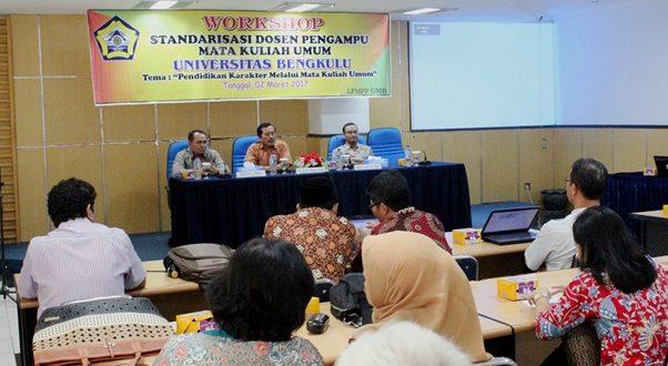 LPMPP Gelar Workshop Standarisasi Kompetensi Dosen MKU