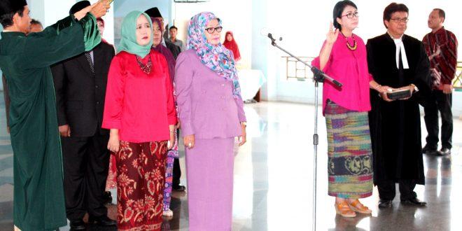 Rektor Lantik Pejabat Mutasi, Rotasi dan Promosi