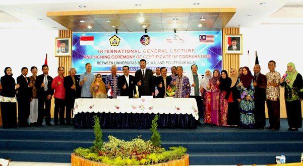 Kuliah Umum Director of Politeknik Nilai Malaysia