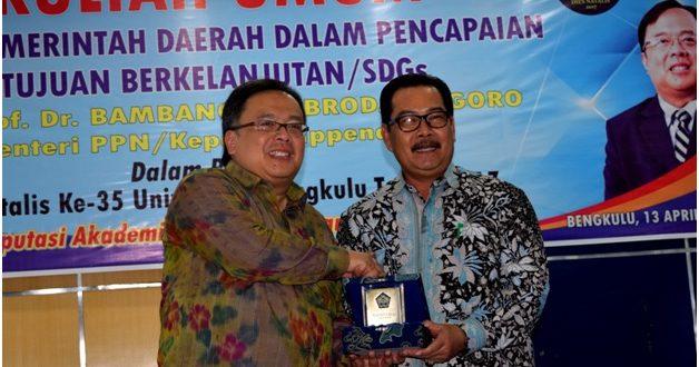 Menteri PPN Minta Bengkulu Fokus pada Masalah Konektivitas dan Kemiskinan