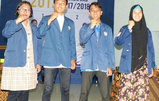 Sukses, Zulfan dan Rianosa jadi Presiden dan Wapres BEM UNIB
