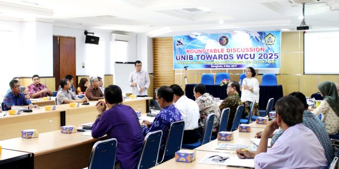 2020, UNIB Memposisikan Sebagai Universitas Berdaya Saing Nasional