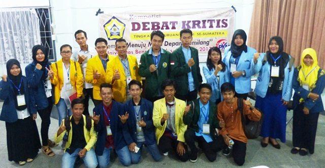 Sukses, Debat Kritis Mahasiswa Se-Sumatera 2017