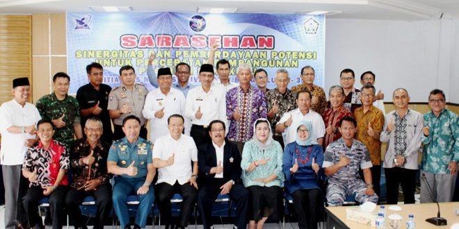 Sarasehan : Sinergisitas dan Pemberdayaan Potensi untuk Percepatan Pembangunan Bengkulu