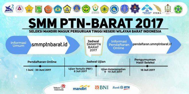 SMM PTN-BARAT 2017 (Jalur Mandiri)