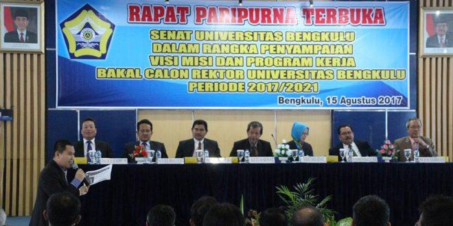 Senat Tetapkan Tiga Calon Rektor UNIB