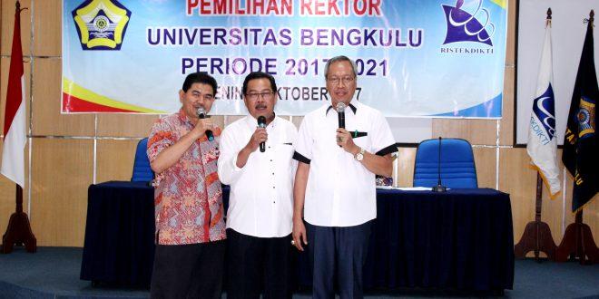 Ridwan Nurazi Kembali Terpilih Sebagai Rektor UNIB