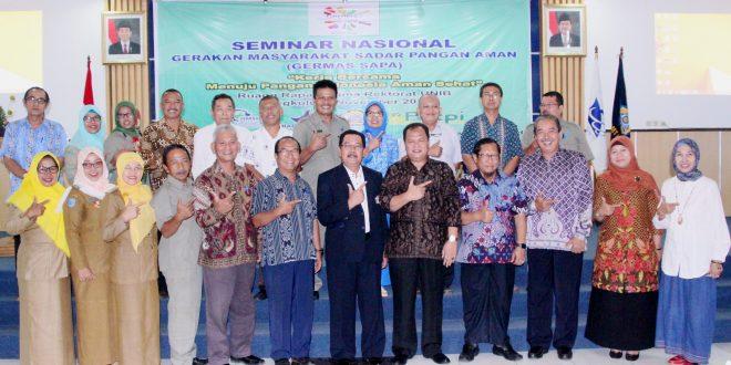 UNIB dan BPOM Gelar Seminar Germas SAPA