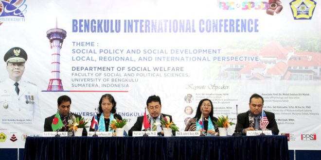 FISIP UNIB Gelar International Conference Social Policy and Social Development