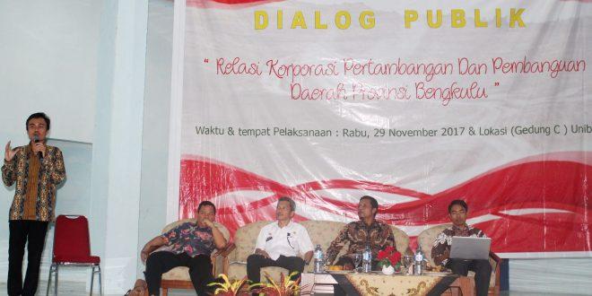 BEM FH Gelar Dialog tentang Kontribusi Perusahaan Pertambangan