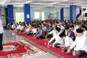 Halal bi Halal, Rektor Ajak Civitas Akademika UNIB Tingkatkan Kinerja