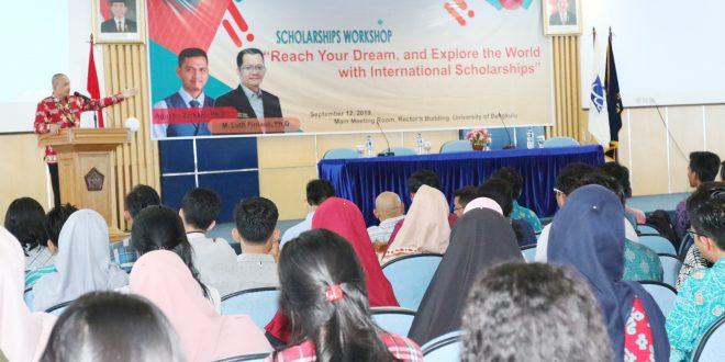 UPT KSLI Gelar Workshop International Scholarships