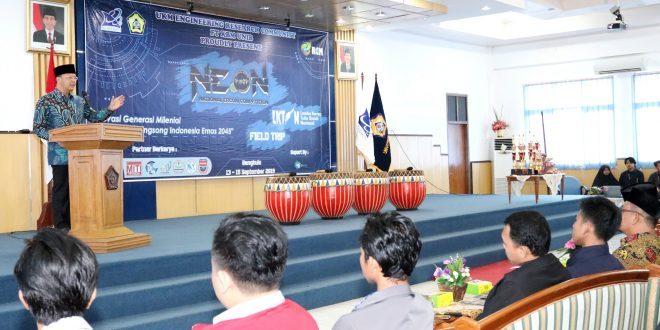 Gubernur Apresiasi NEON Fakultas Teknik 2019