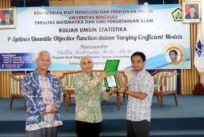 Yudhie Andriyana Ajak FMIPA UNIB Memajukan Pendidikan Statistika