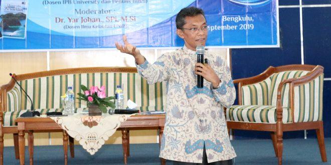 Kuliah Umum Ekowisata Bahari, Prodi Kelautan UNIB Undang Dosen IPB