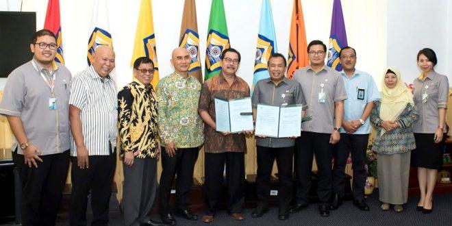 UNIB dan BPJS Ketenagakerjaan Teken MoU