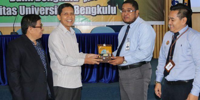 Bank Bengkulu Jalin Silaturahmi dengan Universitas Bengkulu