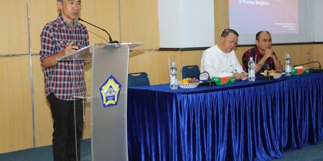 Dialog Pembangunan Ekonomi Hijau Digelar di Universitas Bengkulu
