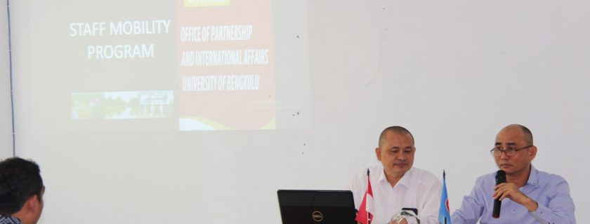 """UPT KSLI Gelar Sharing Session """"Staff Mobility Program"""""""