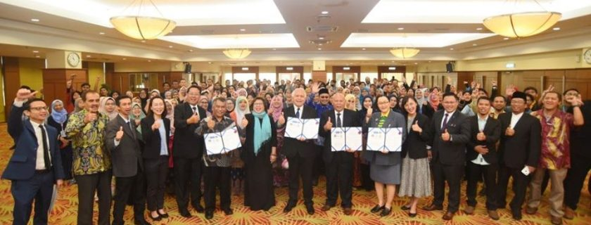 UNIB Berpartisipasi pada 1st SAALFor di UCYP dan Menandatangani MoU Multilateral