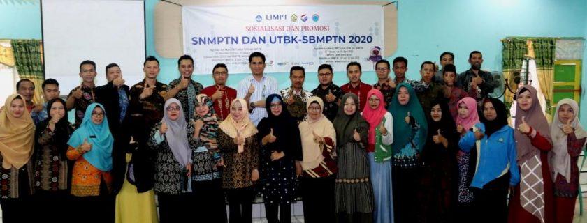 Sosialisasi Promosi SNMPTN, UTBK dan SBMPTN 2020 Disambut Antusias Pelajar se Bengkulu