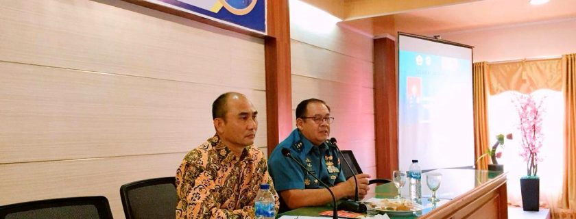 Dekan Fakultas Manajemen Pertahanan UNHAN Kuliah Umum di UNIB