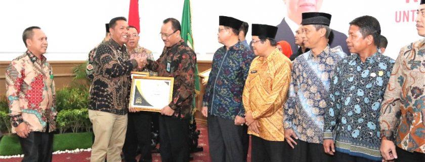 """UNIB Terima Penghargaan """"BP Informatif"""" dari KI Provinsi Bengkulu"""